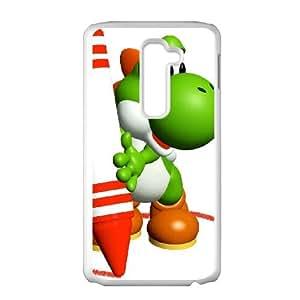 LG G2 Cell Phone Case White_Super Smash Bros Yoshi_008 Nrbol