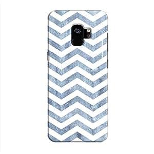 Cover It Up - Denim Bubblegum Print Galaxy S9 Hard Case