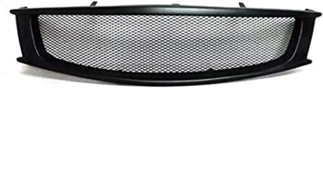 G37 Coupe 2008-2013, PU Eppar New Carbon Fiber Front Grille Compatible with Infiniti G37 2008-2013