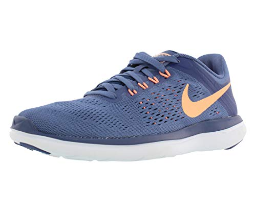 cheap for discount 057aa be151 Galleon - Nike Women s Flex 2016 RN Running Shoes (6 B(M) US, Blue  Moon Sunset Glow Coastal Blue)