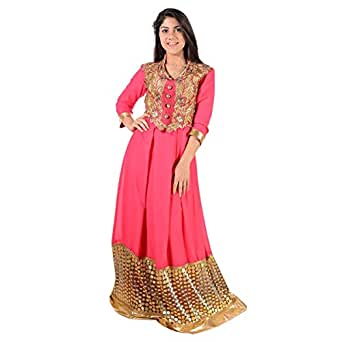 Ashtar Pink Mixed Special Occasion Dress For Women