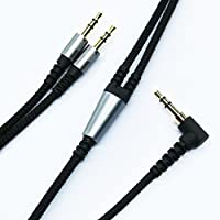 NEOMUSICIA Black Braided Audio cable for SOL REPUBLIC Tracks / Tracks HD / Tracks Air Wireless / Master Tracks XC Over-Ear On-Ear headphone (6ft/2m)