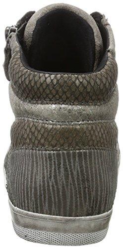 Donna 31 Scarpe Basic Stringate Comfort Derby Micro Elephant Grigio Gabor