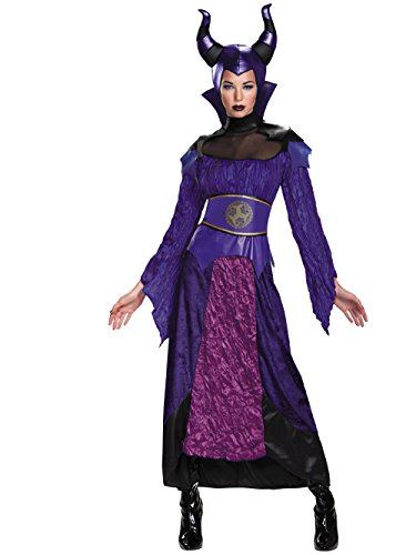 Disguise Women's Descendants Maleficent Deluxe Adult Costume, Multi, -