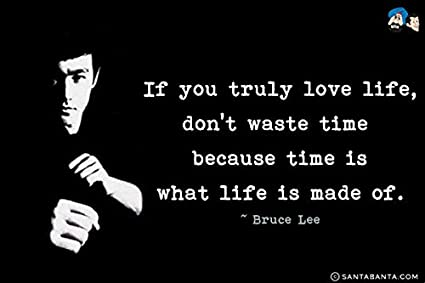 Amazon If You Truly Love LifeBruce Lee Quotes Poster 60x60 Mesmerizing Life Quotes Posters