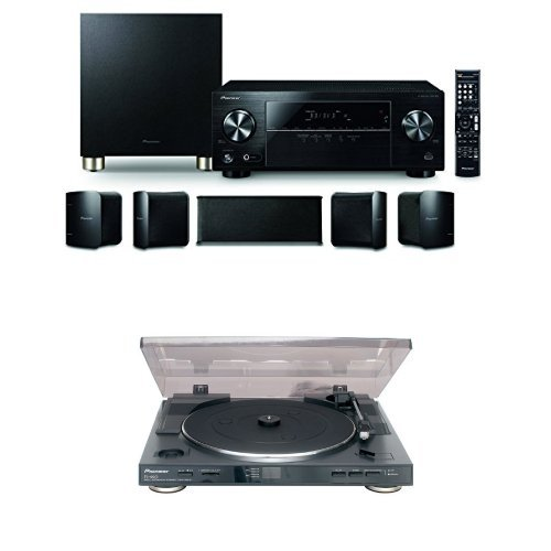 Pioneer 5.1 ch Home Theater Pkg & Turntable