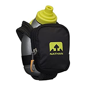 Nathan Quick Shot Plus Handheld Hydration Pack, Black