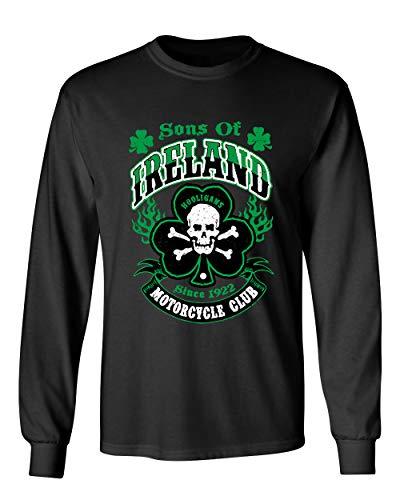 Feelin Good Tees Hooligans Saint Irish Pats Motorcycle Mens Funny St.  Patrick s Day T Shirt 6a3c4f594