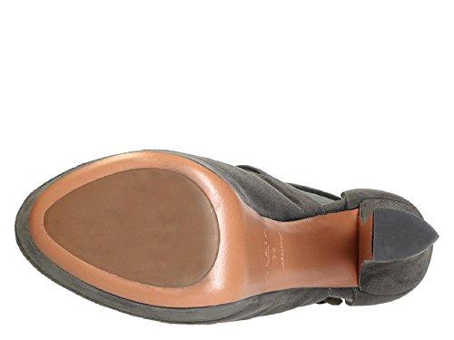 F0170 tacones Alaïa gris de 0UE de en altos ante de gris sandalias AIT299 piel plataforma Número modelo ZdHdwq