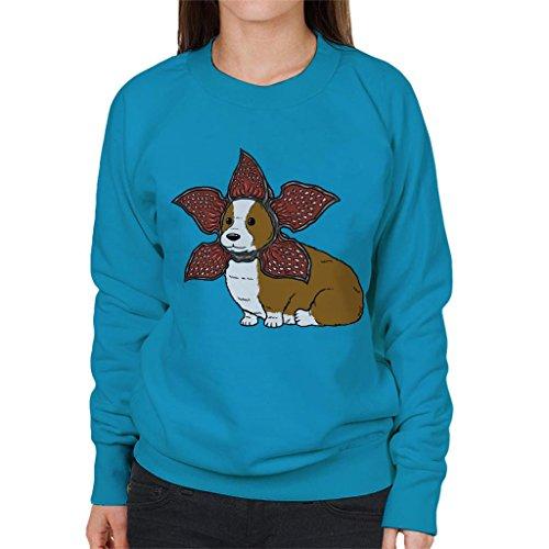 Sweatshirt Cats Sapphire Cloud Demogorgon Corgi City 7 Safe Not Women's For qwROWB6gzw