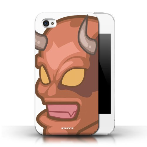 Etui / Coque pour Apple iPhone 4/4S / Démon conception / Collection de Visages de monstres