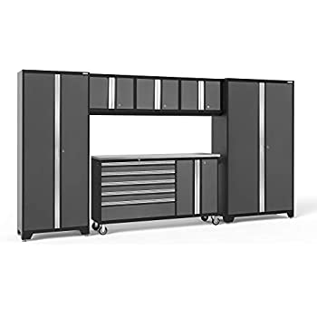 NewAge Products Bold 3.0 Gray 6 Piece Set 50485 Garage Cabinets