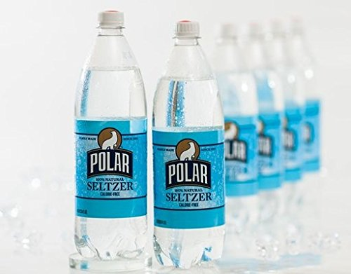 Polar Seltzer 33.8 Fl. Oz, (Pack of 12) (Original) made in New England