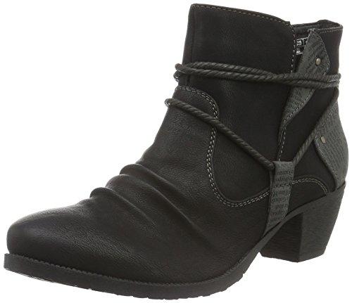 por de Estar Casa negro Supremo Zapatillas Negro Mujer para 1623302 nFqAI7I