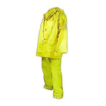b206030438c Magid Glove   Safety 055Y-XXXL Magid Rain Master 3-Piece Rain Suit with  Jacket