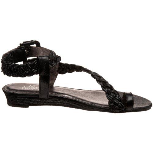 Very Volatile Aphrodite Wedge Pelle Sandalo con la Zeppa