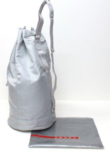 322c18fee2a4 Amazon.com : Prada Luna Rossa Bag Sailing Drawstring Bag : Cosmetic Tote  Bags : Beauty
