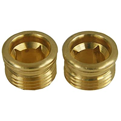 LASCO SB-77NL 1/2 by 24 by 11/32 No Lead Brass Faucet Seats for Streamway Brand, 2-Pack