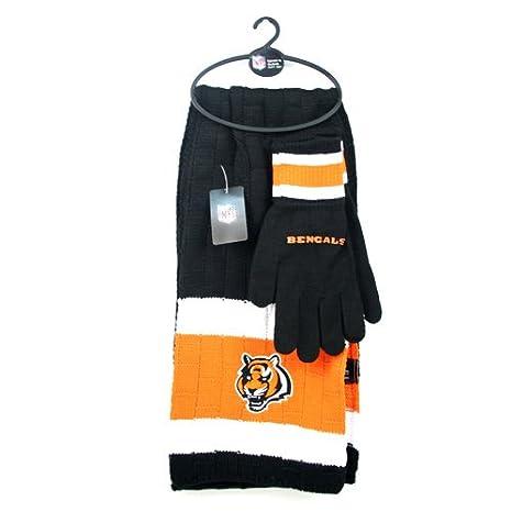 c2a06679 Littlearth NFL Unisex NFL Scarf & Gloves Gift Set