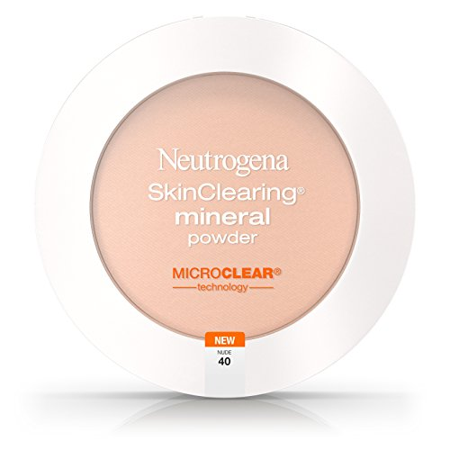 Neutrogena Skinclearing Mineral Powder, Nude 40,.38 Oz. (Pack of 2)