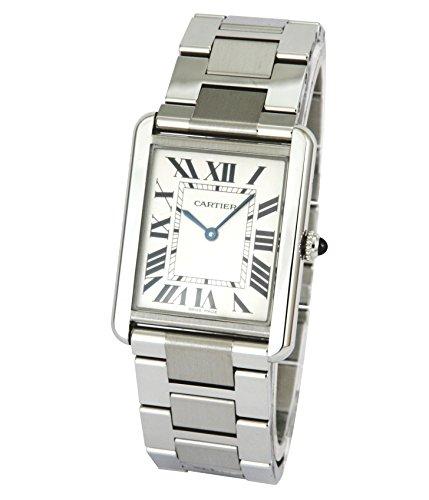 Cartier Men's W5200014 Tank Solo Large Stainless Steel Watch