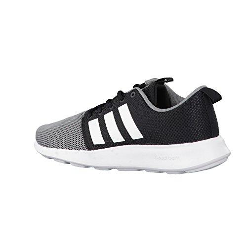 Negro Adidas Swift Running Racer para de Zapatillas Hombre gris Cloudfoam xHBF1