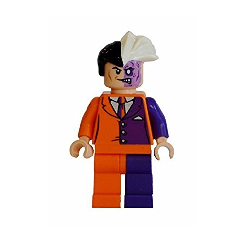 Lego Two-Face Mashup. Legs are a variation from original. 100% Lego parts -