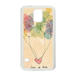 Balloons ZLB809337 Customized Phone Case for SamSung Galaxy S5 I9600, SamSung Galaxy S5 I9600 Case