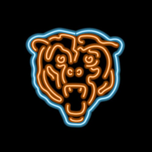 Imperial NFL Neon Sign - Chicago Bears (Nfl Team Neon Sign)