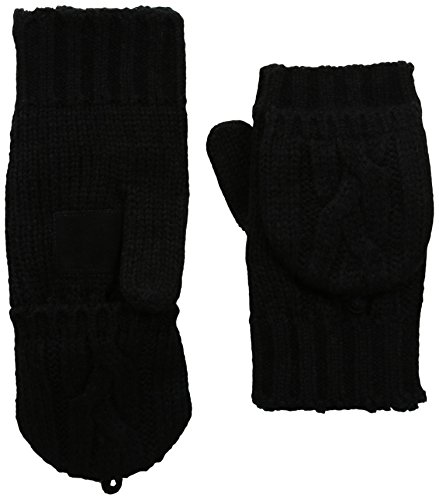 Isotoner Womens Chunky Cable Gloves