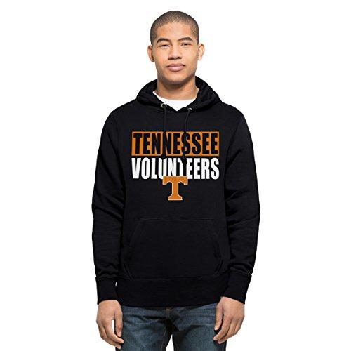 ('47 NCAA Tennessee Volunteers Men's Headline Pullover Hoodie, Large, Fall Navy)