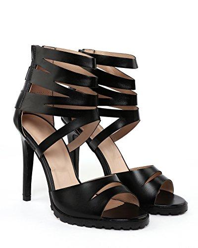 JEZZELLE - Sandalias de vestir para mujer negro