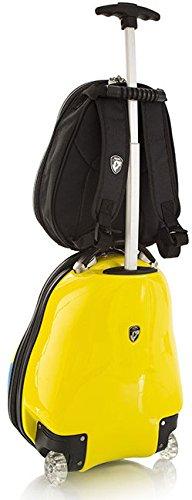 Heys America Travel Tots Kids 2 Piece Luggage Set (One Size, Yellow)