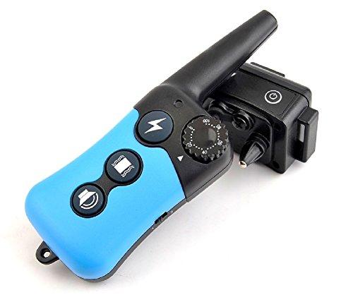 Homily Remote dog collar training dogs electronic pet shock collar 300M beep & shock & vibration dog trainer LCD dog collar (US Plug)
