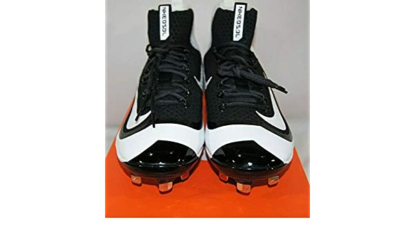 on sale 1b80d 15a1c Nike Air Huarache 2K Filth Mid Metal Baseball Cleats Sz 11 Black Wh 749359- 010 - Autographed NASCAR Miscellaneous Items at Amazon s Sports  Collectibles ...
