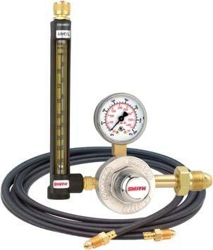 "30 Series Flowmeter Regulator 30 psi, 2"", Argon, Carbon Dioxide, Helium"