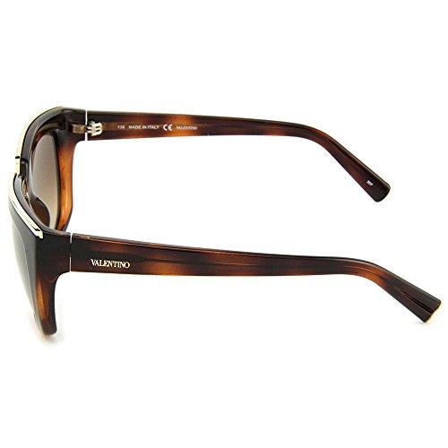 Valentino Sunglasses Round – Havana