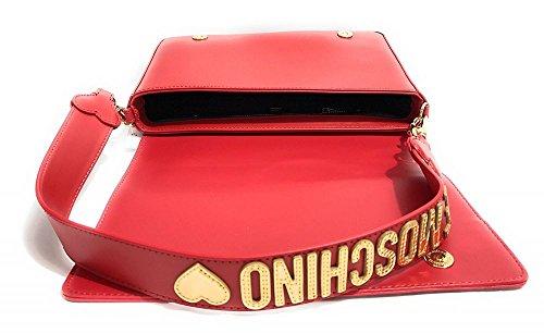 Rossa Per La Moschino Donna Borsa Tracolla A wnq7xt8Aa