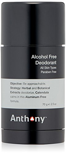 (Anthony Logistics for Men Alcohol Free Deodorant 2.5 oz)