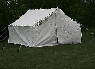 GRIZZLY OUTFITTERS Wall Tent 12 x 14 x 7 5: Amazon ca