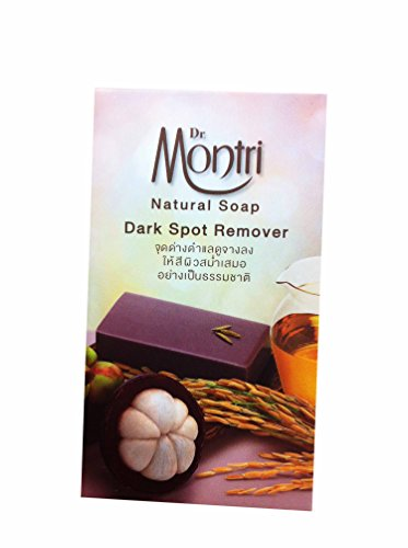 3 Bars of Natural Soap Dark Spot Remover Formula. Helps Cleansing Impurities and Deep Cleanses the Skin. By Dr.montri Brand. (80 G/ bar - Hill Doctors Mango