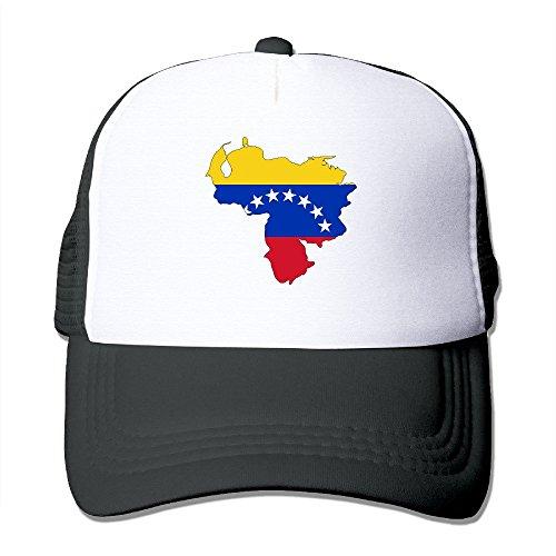 Venezuela Flag Map Nylon Adult Baseball Cap Sport Cap