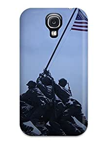 Protection Case For Galaxy S4 / Case Cover For Galaxy(raising The Flag On Iwo Jima)