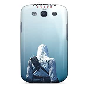 Shock Absorbent Hard Phone Covers For Samsung Galaxy S3 With Custom Nice Assassins Creed Series RudyPugh