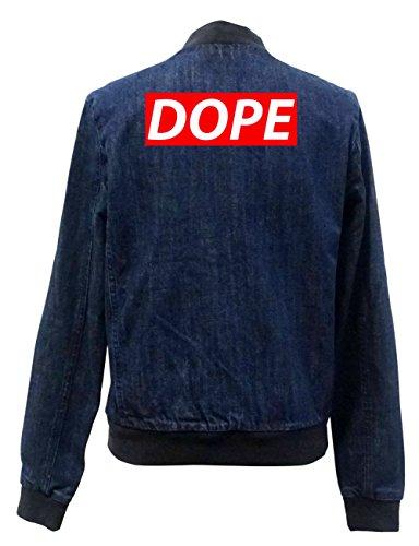 Jeans Bomber Vest Freak Dope Block Girls Certified IOw8q