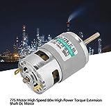775 Dc Motor, High Power Torque Extension Shaft