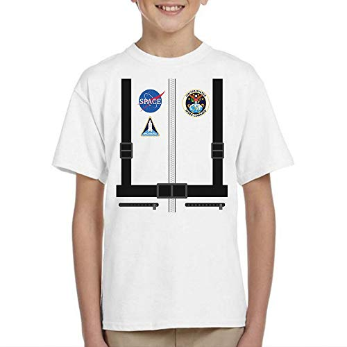 Astronaut Costume Astronomy Space Shift Outer Space Galaxy UFO Halloween Costume Handmade T-Shirt Hoodie Long Sleeve Tank Top Sweatshirt
