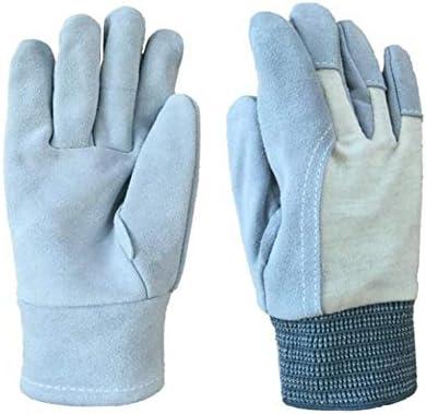 ガーデニング用手袋 滑り止め溶接短い処理切削保護ギアガーデニング薄い綿手袋安全な手袋 園芸 採掘 植栽 枝切り 防護手袋