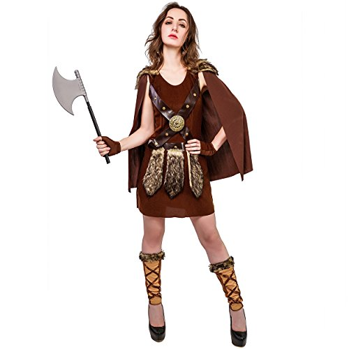 Warrior Viking Womens Costume (M) ()