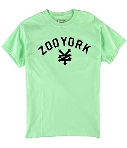 - Zoo York Men's Short Sleeve Immuergruen T-Shirt, Mint, Small